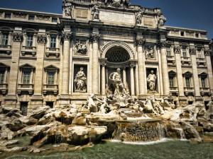 O rzymskich fontannach słów kilka