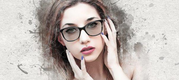 Idealny makijaż pod okulary