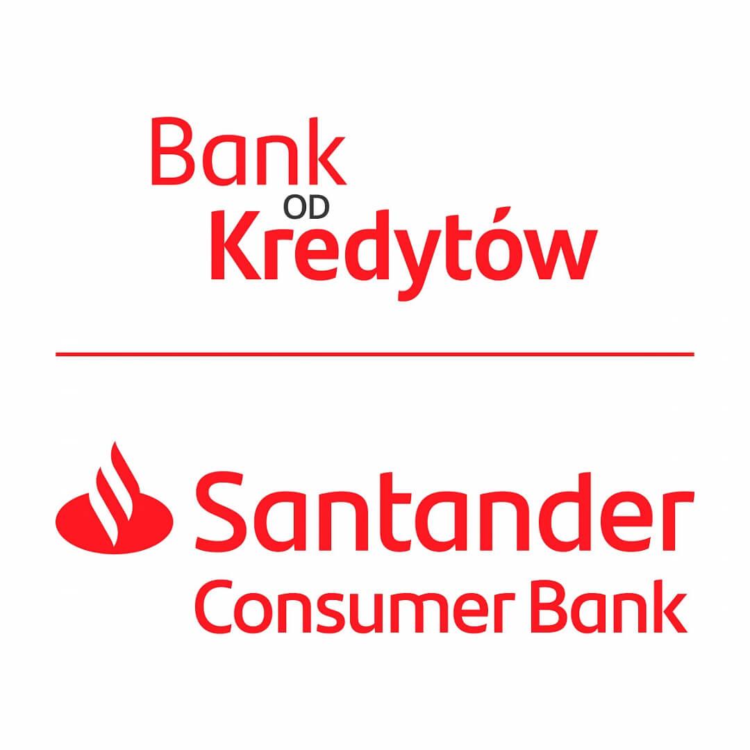 Santander Consumer logo banku od kredytów